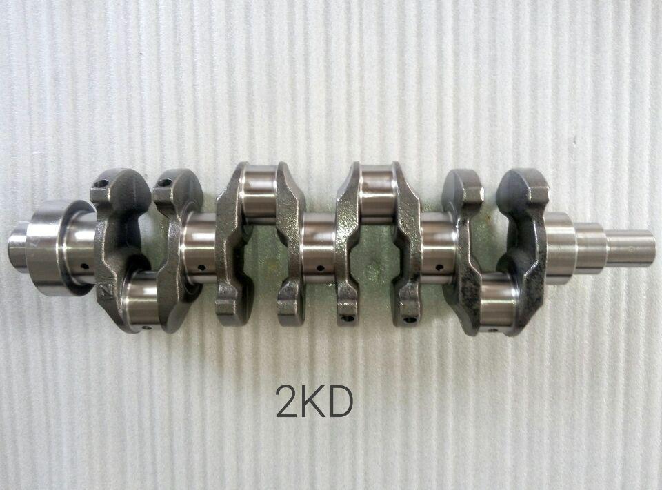 Forged Steel 2Kd Diesel Engine Crankshaft For Toyota Part Number 1340130020 13103202